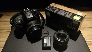 Nikon D7100 & Nikkor 50mm F1.4 & 35mm F1.4