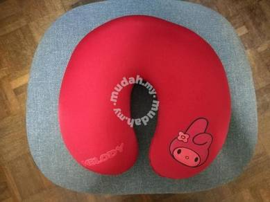 Red Melody Travel Pillow