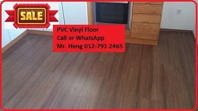 Natural Wood PVC Vinyl Floor - With Install 6u8ij