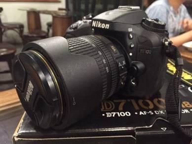 Nikon D7100 Kitlens Fullbox