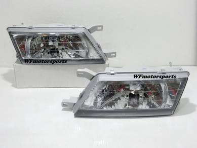 Nissan Sentra B14 Head Lamp Light Crystal Clear