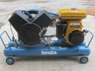 Japan Imported Iwata Mobile Air Compressor