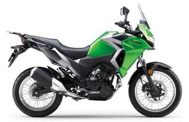 Kawasaki versys 250 + foc side box