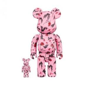 Medicom Toy Kidill x Eri Wakiyama Bat & Rose 100%