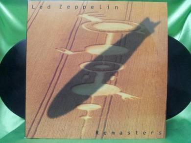 Led Zeppelin REMASTERS 1990 Atlantic 3LP