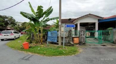 Murah!!! Single Storey Corner Lot , Taman Seroja