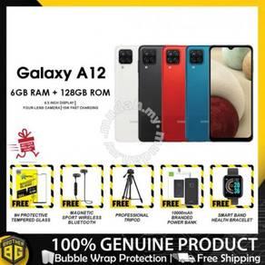 Samsung a12 [6gb+128gb/48mp quad/5000mah]- new set