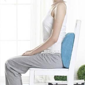 Memory Foam Seat Chair Lumbar Back Support Pillow