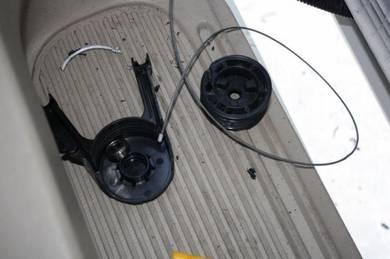 Repair Toyota Estima acr50 power door vacuum motor