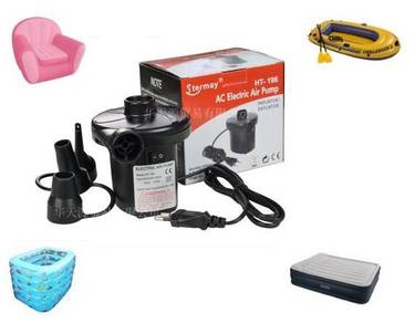 Electric air pump two ways garden swimming pool