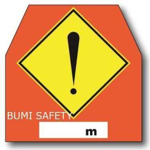 Temporary high way/traffic signage