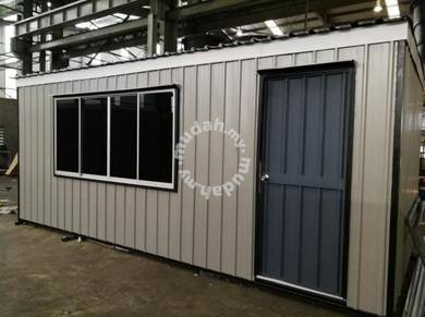 New site office cabin phg