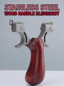 Slingshot Wood Handle III | Lastik Kayu