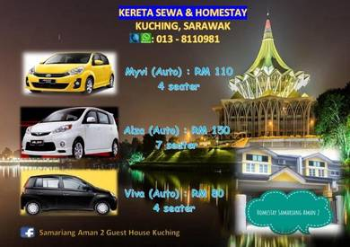 Kereta Sewa & Homestay