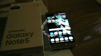 Samsung note 5 sme like new 1 weeks use only