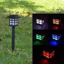 Solar garden light/Auto change solor Waterproof