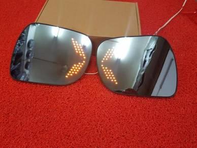 Myvi lagi best axia blue side mirror lens signal
