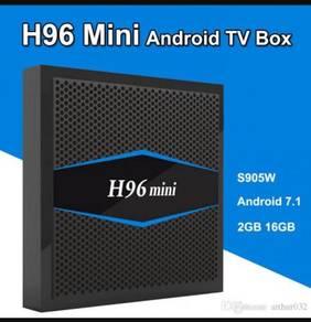 H96 mini Android Bluetooth 2g/16g box tv
