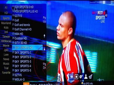 QLED Globe 9900+Live Tv Box Android IPTV