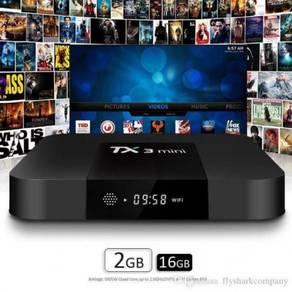 Tx3 fast 2g/16g Android mini box tv turbo