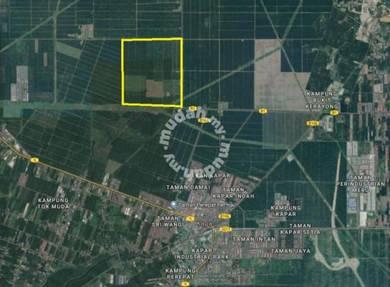 Freehold Big Land 500 Ekar Kapar Klang Port West North Meru