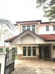 Below Market Double Storey With Extra Land Taman Pelangi Semenyih