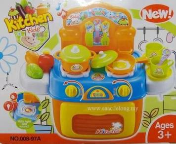 Kitchen Stove Oven Playset with Light & Sound