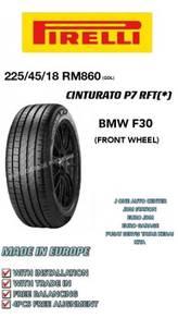 Pirelli 225 45 18 cinturato p7 rft * bmw f30