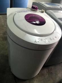 Top Pink Sharp Mesin Automatic 8kg Washing Machine
