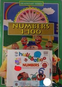 VCD Numbers 1 To 100 Numbers - Floella Benjamin