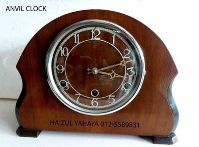 Jam Meja Anvil - Westminster Chimes Mantle Clock