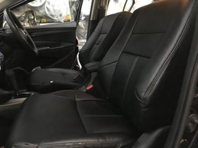 Nissan almera semi leather seat cover