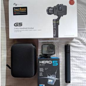 GOPRO HERO 5 BLACK (With Lots of Accessories)