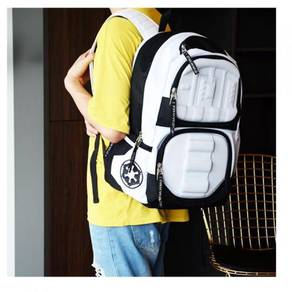 Star Wars Stormtrooper white backpack bag G57