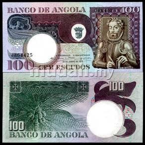 Angola 100 escudor 1973 p 106 unc