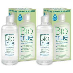Biotrue Multipurpose Solution 2X300ml