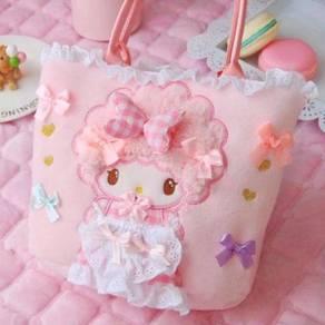 Cute pink lolita melody shoulder handbag