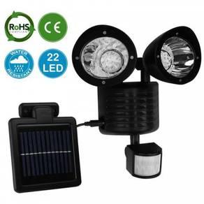 22 LED Solar Powered PIR Motion Sensor Bright