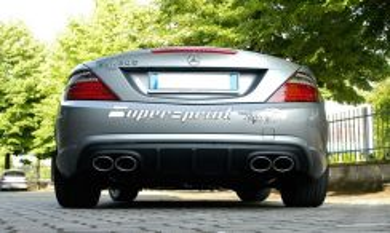 Mercedes SLK R172 AMG Rear Diffuser