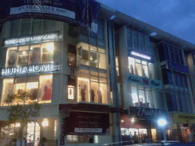 Bangi Sentral Seksyen 9 4 Storey Shop for Sale Facing Main Road