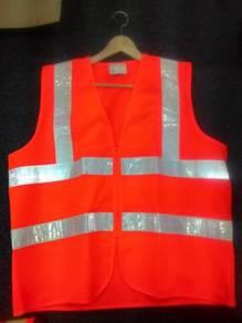 Safety vest orange free size