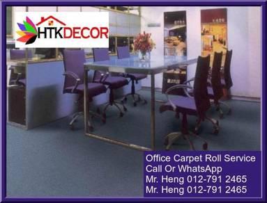 Classic Plain Design Carpet Roll with Install J80