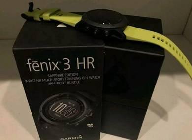 Fenix 3 HR Sapphire Malaysia