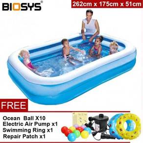 2.6m inflatable swimming pool 11