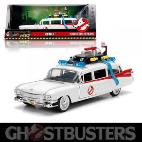 Ghostbusters ECTO-1 Movie Car 1/24 Diecast model