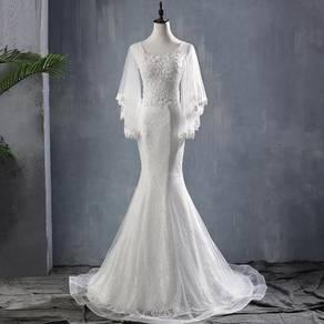Mermaid fishtail wedding bridal dress gown RB1524