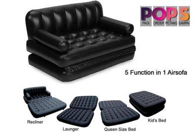 Multi Function Sofa Bed 5 in 1 + Free Air Pump