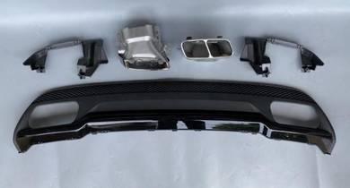 Mercedes Benz W176 A45 Rear Bumper Diffuser 2015