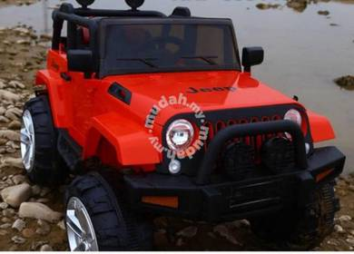 Childrend jeep red color