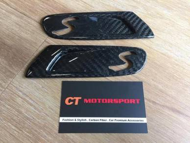 MINI Cooper S F55 F56 Dry Carbon Side Fender Cover
